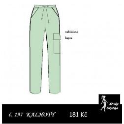 Volné kalhoty Aiša 1