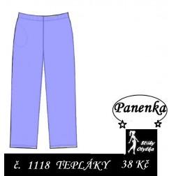 kalhoty na panenku