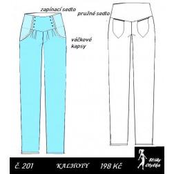 Volné kalhoty Aiša 2