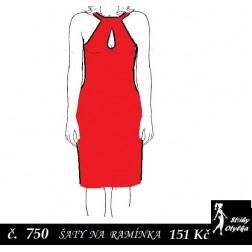 Šaty na ramínka Radmila