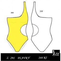 Plavky jednodílné Štěpka