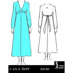 Šaty Jiřina
