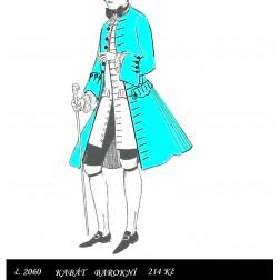 Kabát barokní