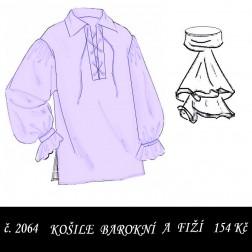 Barokní košile a fiží Albrecht