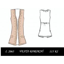 Vesta dlouhá barokní Ctirad