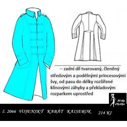 Kabát vojenský Kaiserok