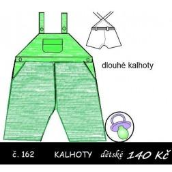 Kalhoty dlouhé pro batole Michal/ka