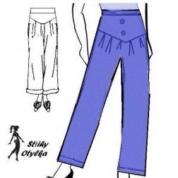 Kalhoty do sedla Míla