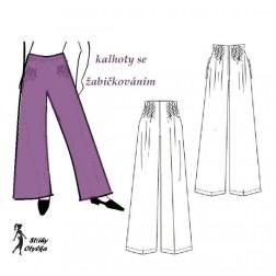 Kalhoty Frantina