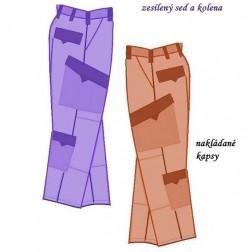 Kalhoty pracovní Marcel/Marcela