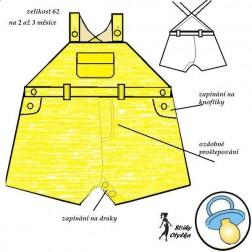 Kalhoty pro batole Michal/ka
