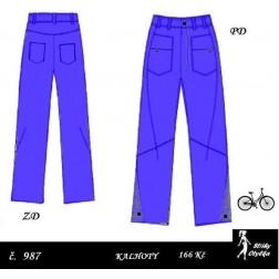 Kalhoty Růžena, Rosťa