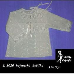Kojenecká košilka Kateřina / Karel