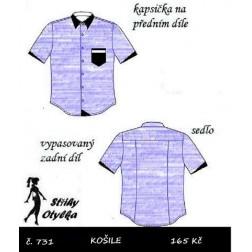 Košile Jan / Jana