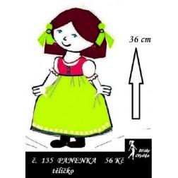 Panenka  Maruška, tělíčko, PDF, VP 36 cm
