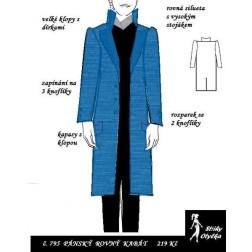 Pánský kabát Willy Wonka