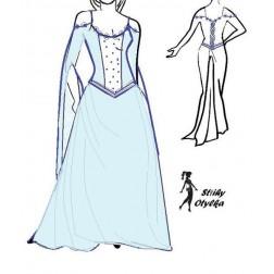 Plesové šaty Klementain