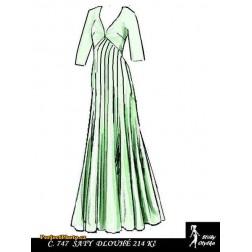 Plesové šaty Magdaléna
