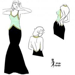 Plesové šaty Slávka