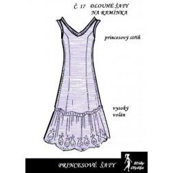 Princesové šaty Danka
