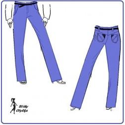 Riflové kalhoty Klárka