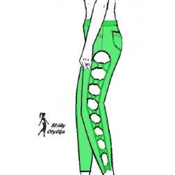 Riflové kalhoty Maruška