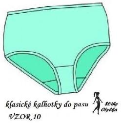 Spodní kalhotky vzor č. 10