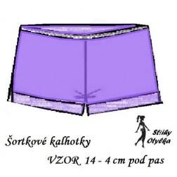 Spodní kalhotky vzor č. 14