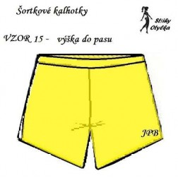 Spodní kalhotky vzor č. 15