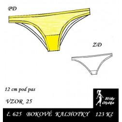 Spodní kalhotky vzor č. 25