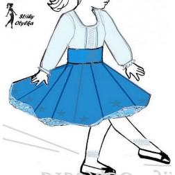 Sukně s tylovou spodničkou Adéla