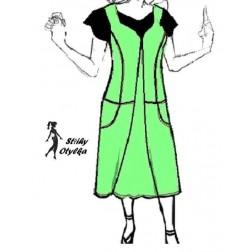 Šatová princesová sukně Květuše