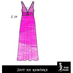 Šaty bez rukávů Cecilka