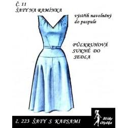 Šaty bez rukávů Sylva
