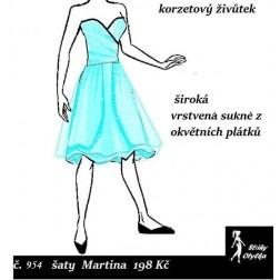 Šaty Martina