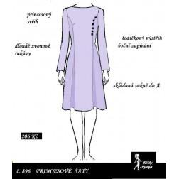 Šaty princesové Lidka