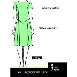 Šaty princesové Lilian