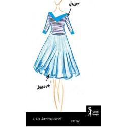 Šaty s kolovou sukní Oldřiška