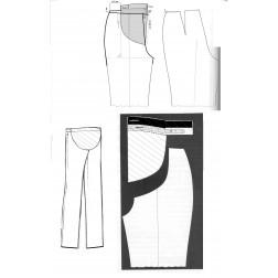 návod ŠITÍ: kalhoty mateřské